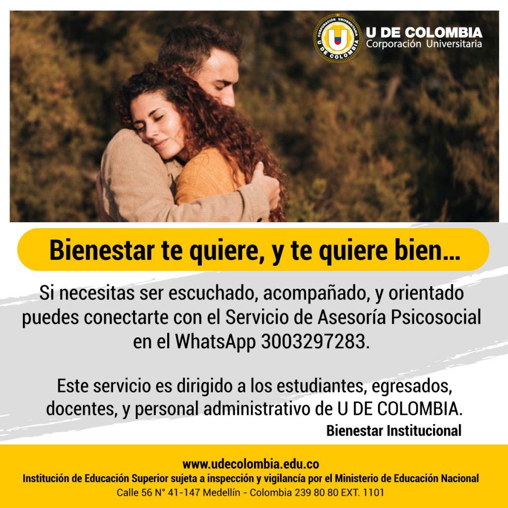 Apoyo Psicosocial U de Colombia