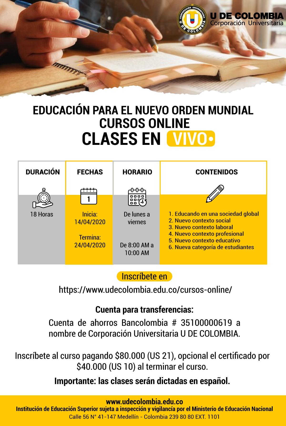 EDUCACION PARA EL NUEVO ORDEN MUNDIAL